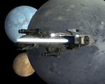 Hesperus in orbit.