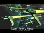 Birds of Prey intro pic for Star Trek Mod.