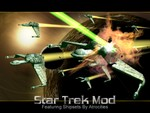Bird of Prey Destroyed intro pic for Star Trek Mod.